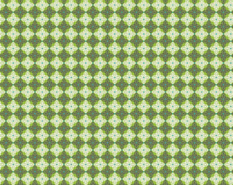 Fabric by the 1/2 Yard Josephine Kimberling Turkish Delight Green