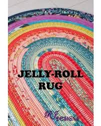 Pattern - Jelly Roll Rug by RJ Designs