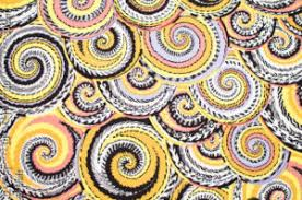 Rowan Fabrics Kaffe Fassett Spring 2014 Curly Basket Natural Quilting Fabric By The 1/2 Yard