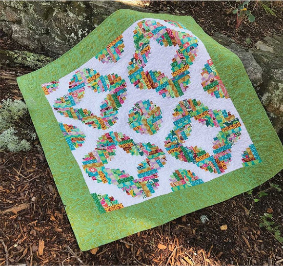 Circles Of Love Quilt Pattern Cut Loose Press Clpjaw066 Creative G Christie S Quilting Boutique