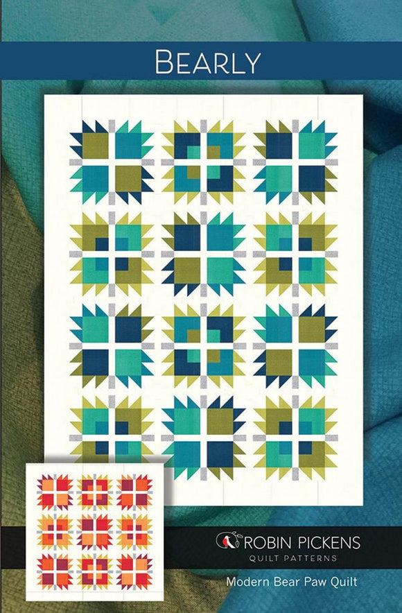 Bearly Quilt Top Kit Robin Pickens 73*73