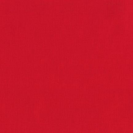 Kona Red Quilting Fabric By The 1/2 Yard #1308