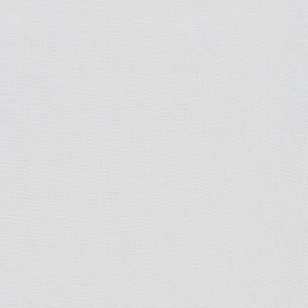 Kona Solid Silver #1333 Quilting 100% Cotton Solid Fabric By The 1/2 Yard