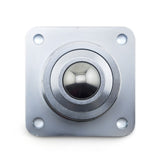 4 Hole Flange Mount Ball Transfer: FHDBTM-1-3/16 CS/SS