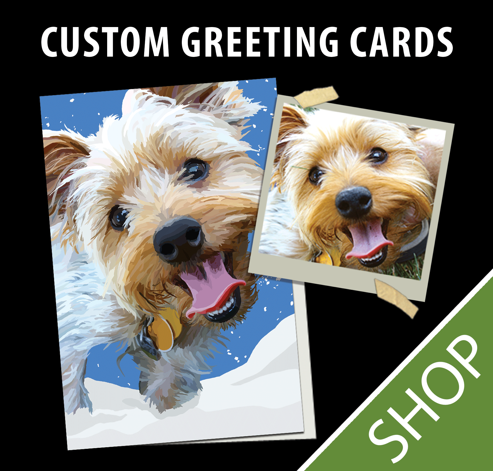 Custom Illustrated Greeting Cards Wagging Tail Studios