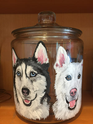 Custom Painted Treat/Cookie Jars