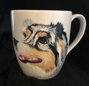 Custom Painted Ceramic Coffee or Tea Mug