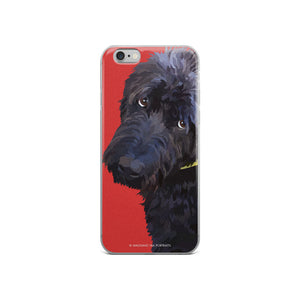 Charley the Labradoodle - iPhone 5/5s/Se, 6/6s Plus Case