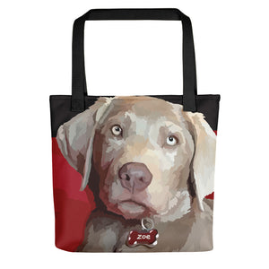 Zoe the Sliver Lab - Tote bag