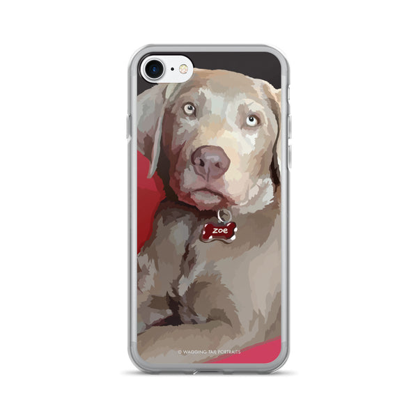 Zoe the Silver Lab - iPhone 7/7 Plus Case