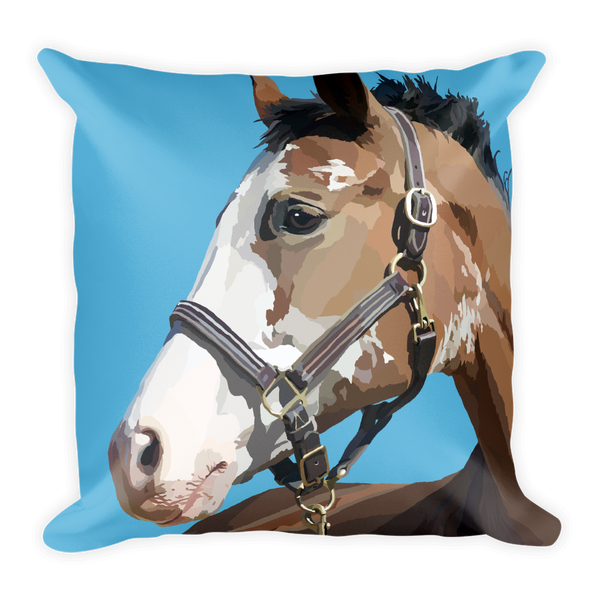 Majestic Horse - Square Pillow