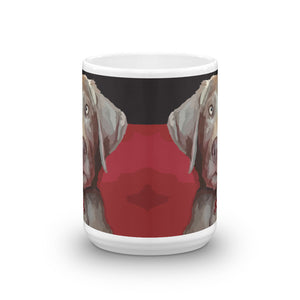 Zoe the Silver Lab - Mug made in the USA