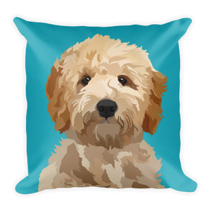 Goldendoodle - Magnolia - Square Pillow