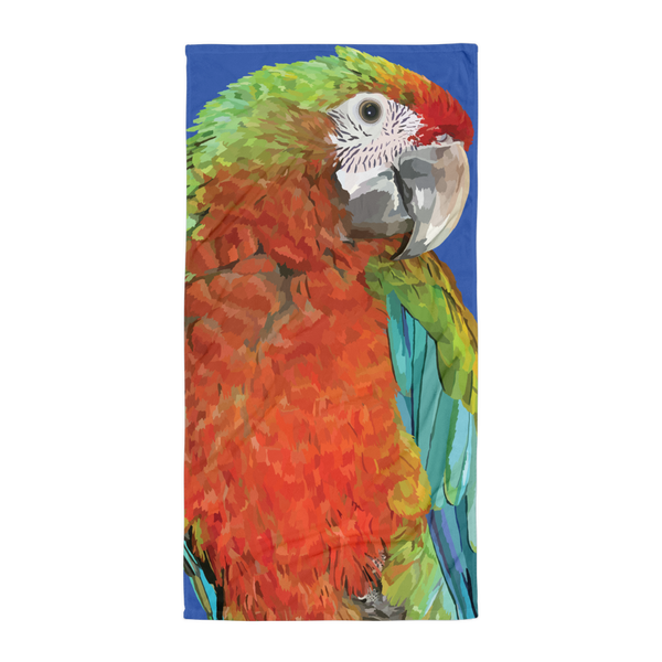 Penelope the Parrot - Towel