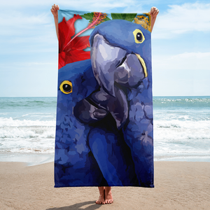 Brandi and Zelda the Parrots - Towel
