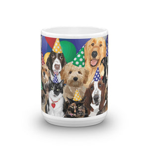 A Wagging Tail Birthday - Mug made in the USA