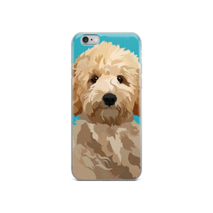 Magnolia the Goldendoodle - iPhone 5/5s/Se, 6/6s Plus Case