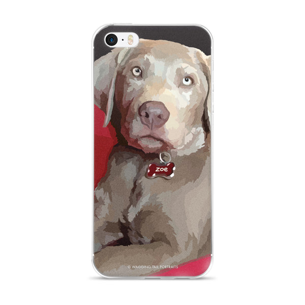 Zoe the Silver Lab - iPhone 5/5s/Se, 6/6s Plus Case