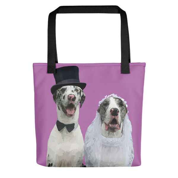Great Danes - Earl and Nellie - Tote bag
