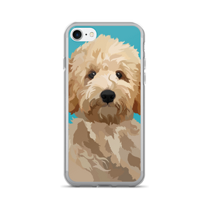 Magnolia the Goldendoodle - iPhone 7/7 Plus Case