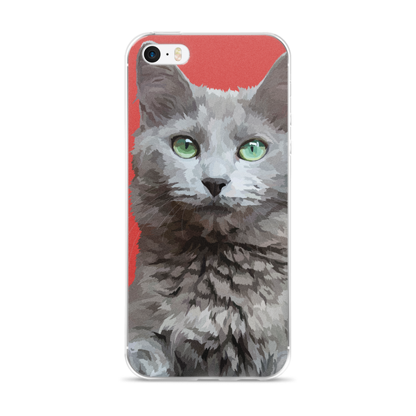 Morgaine The Cat - iPhone 5/5s/Se, 6/6s Plus Case