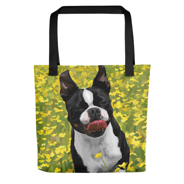 Abigail the Boston Terrier - Tote bag