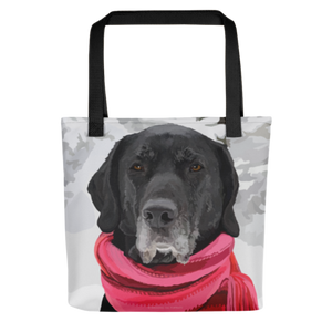 Fido the Black Lab - Tote bag
