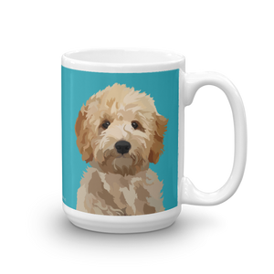 Magnolia the Goldendoodle Mug