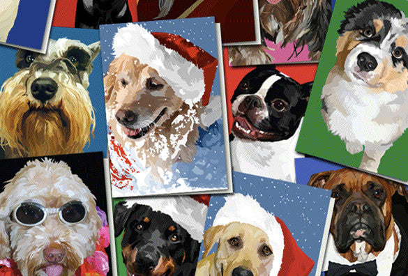 Wet Nose Greeting Cards