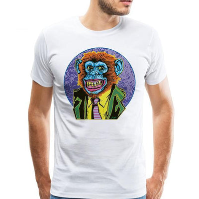 Cartoon Graphic Demons T-shirt