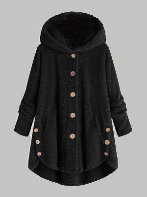Coat Female Plus Size Artificial