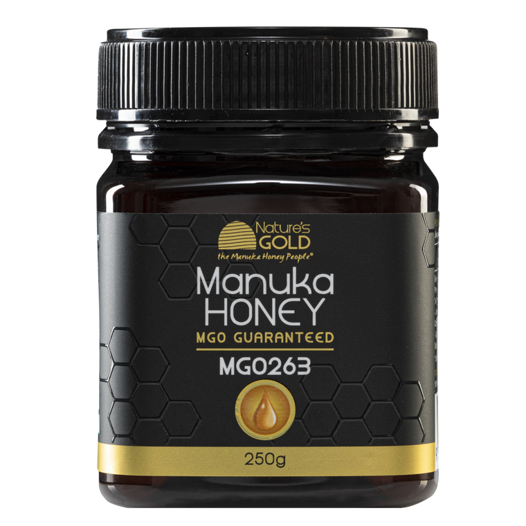 Natures Gold | Manuka Honey - MGO 263+ 100% Australian Made