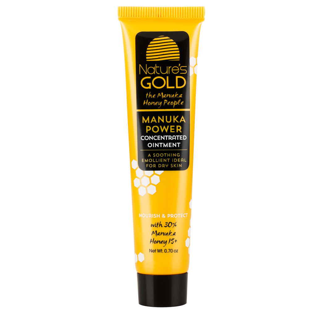 Manuka Honey Concentrated Ointment by Nature's Gold Twin Pack. NPA/UMF 15+.  For dry skin relief