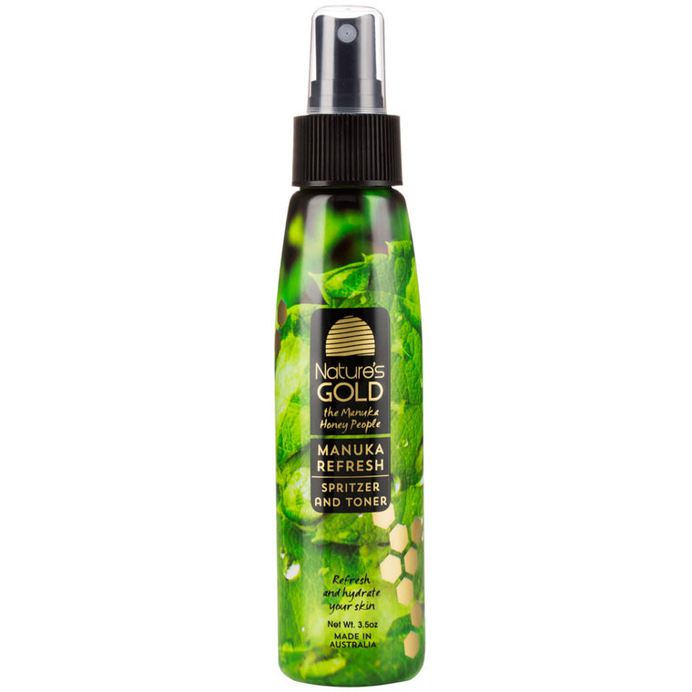 Manuka Honey Spritzer and Toner for facial skincare by Nature's Gold
