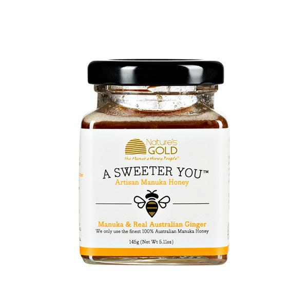Australian Manuka honey with real Australian ginger