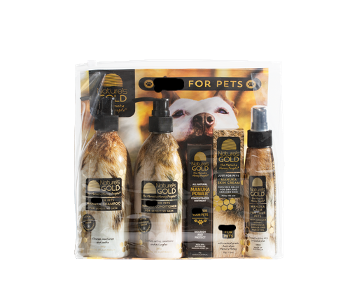 Manuka honey pet care, look after your pets with natural manuka honey