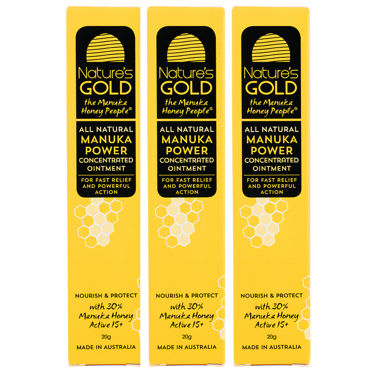 TRIPLE PACK - Manuka Power Concentrated Ointment x 3 units