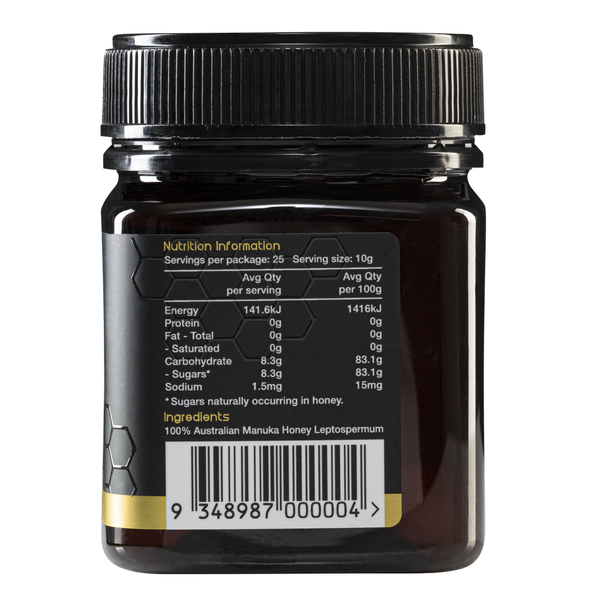 Natures Gold Manuka Honey - MGO 514+