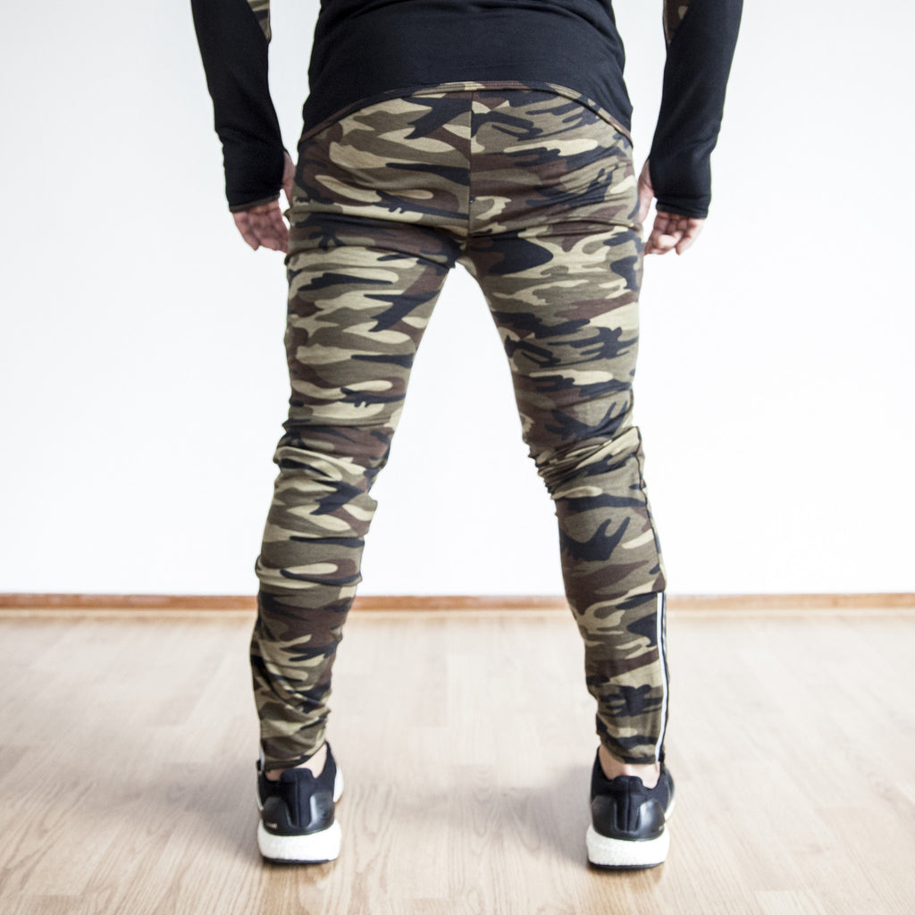 Fit Capital Lunar Hybrid Joggers Camouflage