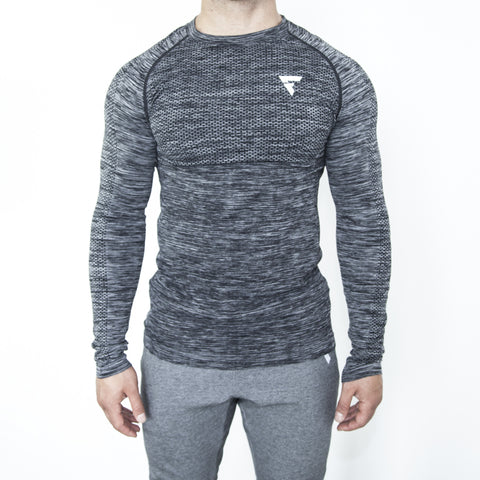 Seamless Torch Long Sleeve - Graphite