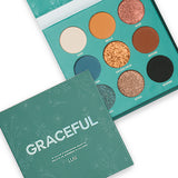 SECRET GARDEN COLLECTION - 9 COLOR EYESHADOW PALETTE