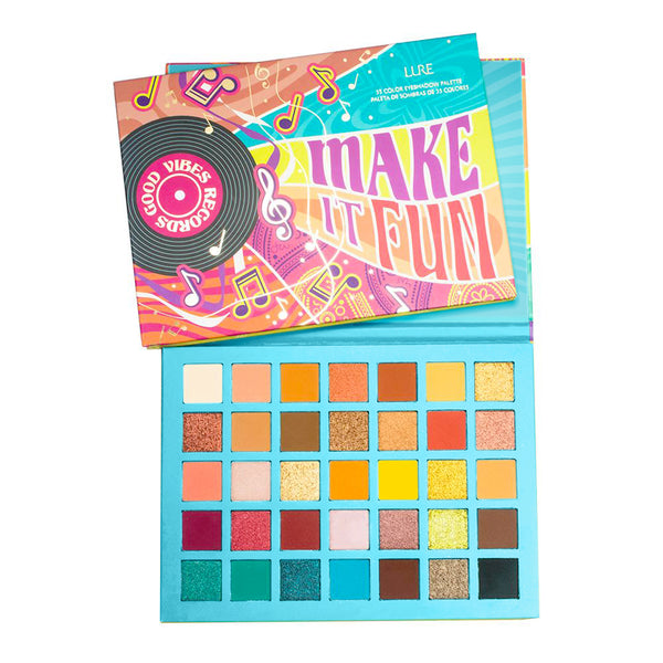 MAKE IT FUN THE SIXTIES 35 COLOR SHADOW PALETTE - LURE