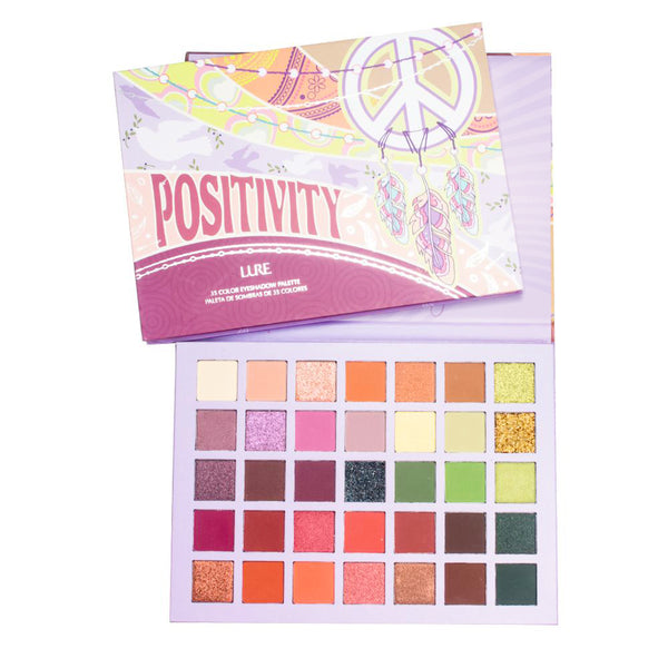 POSITIVITY THE SIXTIES 35 COLOR SHADOW PALETTE - LURE