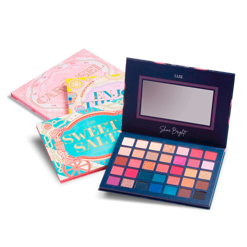 GIRL POWER GIRLS CAN 18 COLOR SHADOW PALETTE - LURE