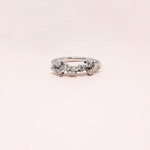 Blossom Diamond Ring (9kt | 14kt | 18kt Gold)
