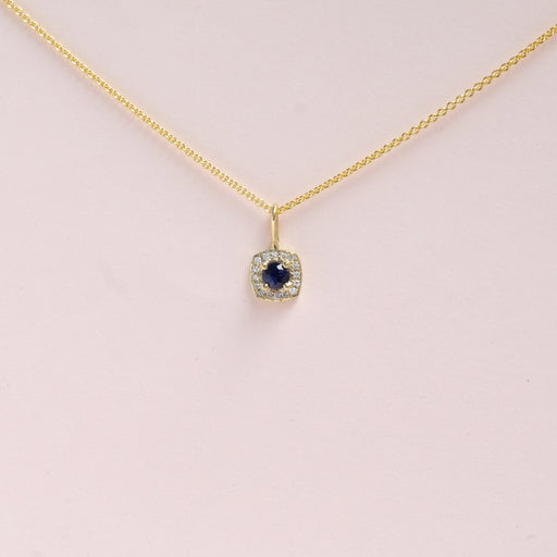 Sapphire (September) Birthstone Necklace