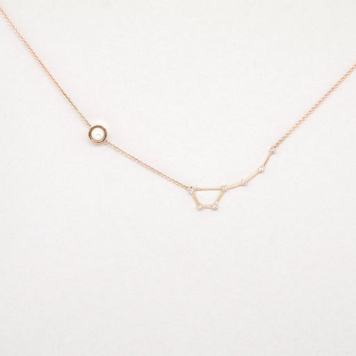 Constellation Little Dipper Necklace (14kt Rose Gold)