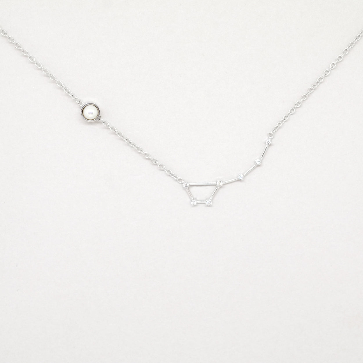 Constellation Little Dipper Necklace (Silver)