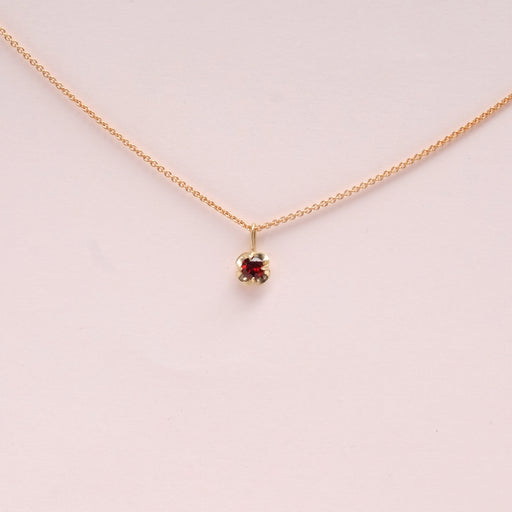 Garnet (January) Birthstone Necklace