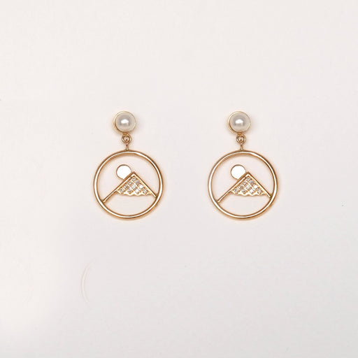 Winter (Mt. Fuji) Earrings